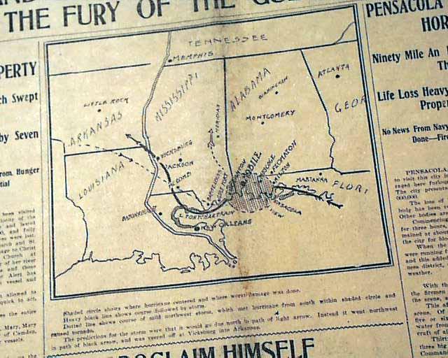 1906 Mississippi hurricane