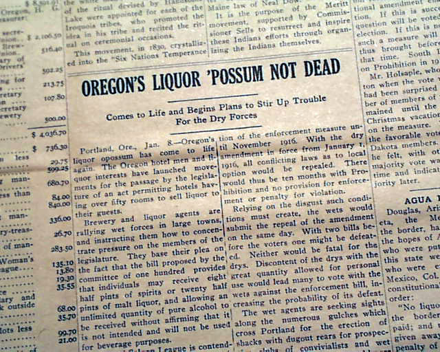 old prohibition newspaper articles