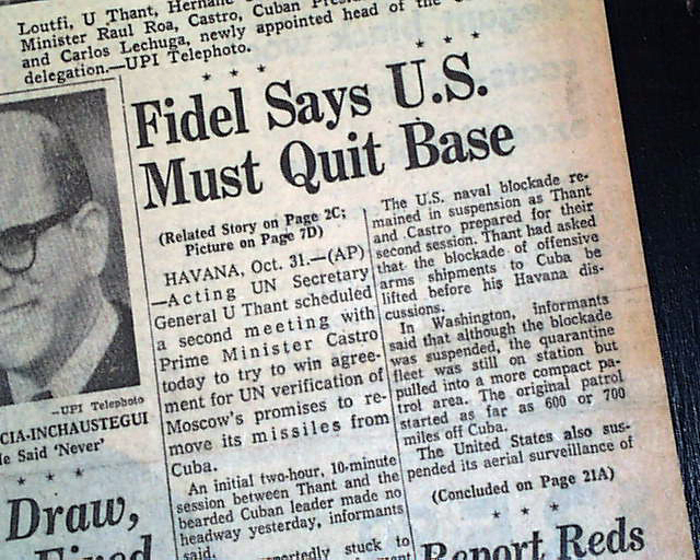 The Cuban Missiles Crisis Essay example