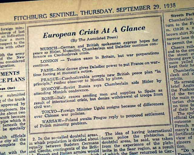 munich agreement who was the winner Shortly after the munich agreement gave germany the sudetenland, hilter invaded britain france poland italy.