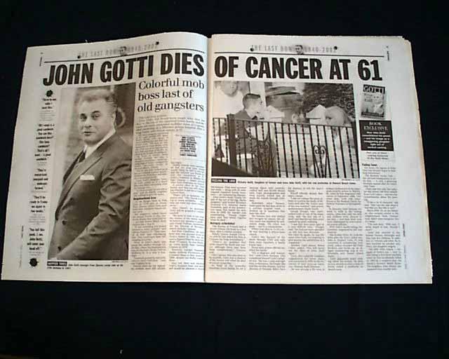 The Last Don John Gotti 1940 2002 Rarenewspapers Com