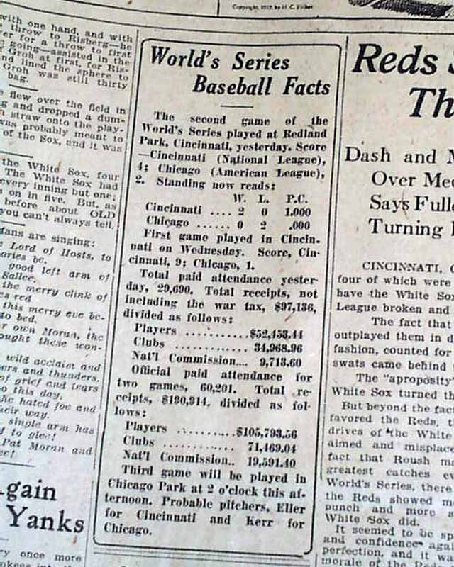 black sox scandal thesis statement Public relations scholars would classify comiskey's statements and the corresponding actions it enjoyed prior to the black sox scandal thesis-open access.