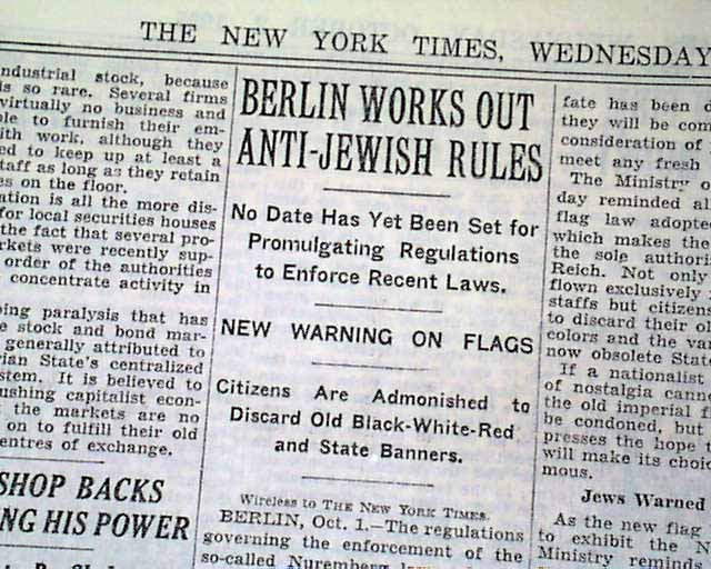 nuremberg laws against the jews Definition of nuremberg laws  the third law passed at nuremberg, the reich flag law,  although primarily directed against the jewish population,.