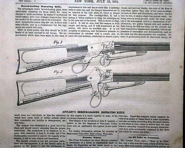 breech civil essay loading rifle war The american civil war also previewed the importance of breech-loading rifles for more than a century, soldiers carrying muzzle-loaders had been issued paper.