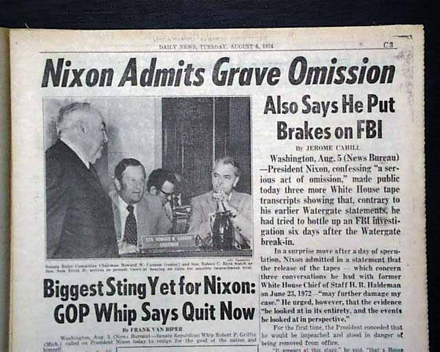 watergate scandal The direct effect of the watergate scandal was the resignation of richard nixon as president of the united states a number of nixon's aides were sent to federal prison.